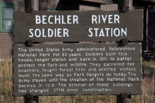 Bechler River Historic Soldier Station by John William Uhler ~ Copyright © Page Makers, LLC and Yellowstone Media All Rights Reserved