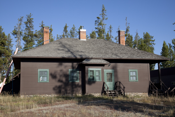 Bechler River Historic Soldier Station by John William Uhler © Copyright Page Makers, LLC and Yellowstone Media