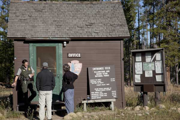 Bechler Ranger Station by John William Uhler © Copyright Page Makers, LLC and Yellowstone Media