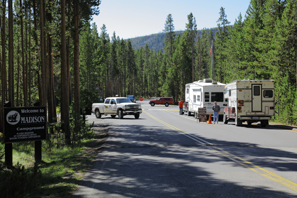 Madison Campground by John William Uhler © Copyright