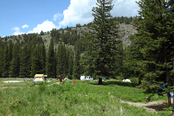 Slough Creek Campground by John William Uhler © Copyright