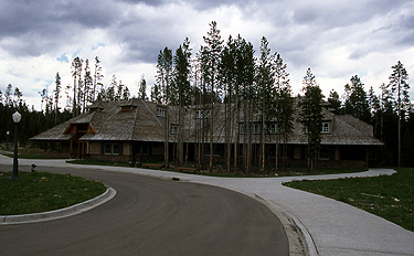 Cascade Lodge in Canyon NPS Photo - Yellowstone National Park