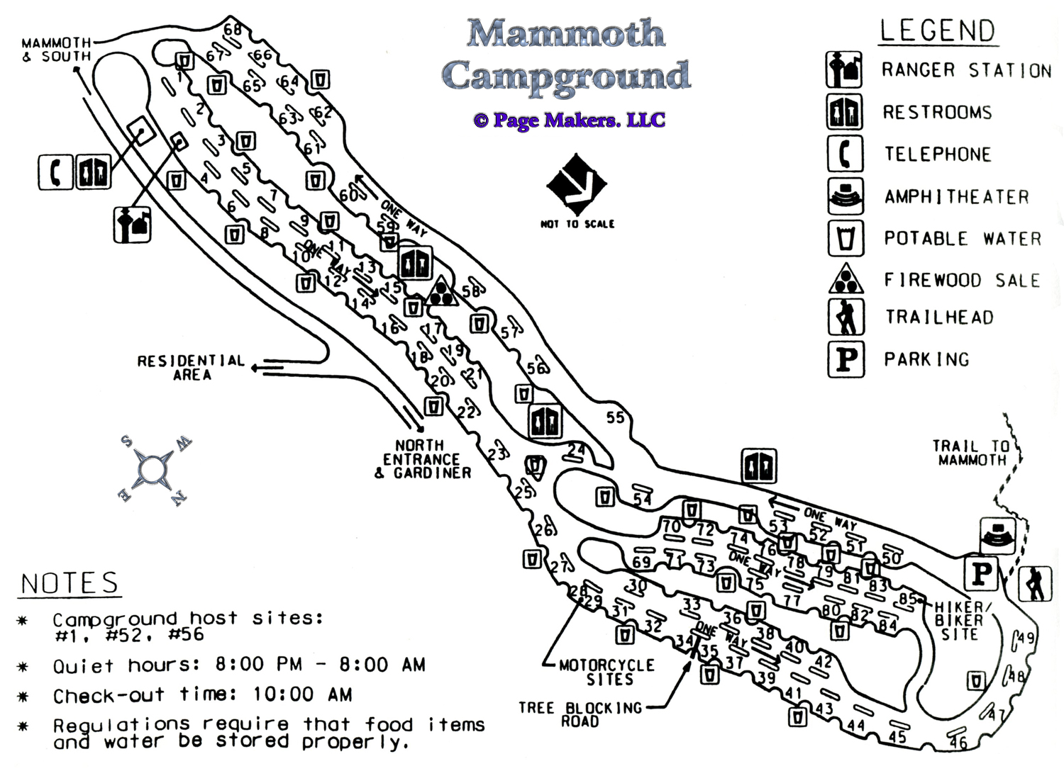 Mammoth Campground Map, Pictures and Video Yellowstone ... on mount snow lodging map, vail lodging map, key west lodging map, lake tahoe lodging map, keystone lodging map, grand canyon village lodging map, alta lodging map, beaver creek lodging map, snowbird lodging map, lionshead lodging map, moab lodging map, wintergreen lodging map, gatlinburg lodging map, yosemite lodging map, sedona lodging map, phoenix lodging map,