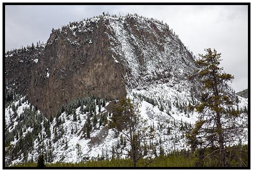 Mount Haynes in Spring 2016 ~ © Copyright All Rights Reserved John William Uhler