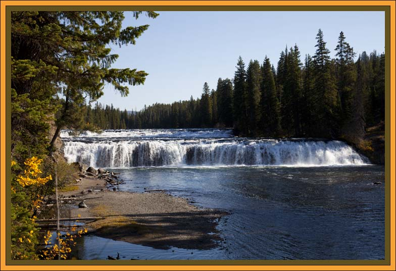 Falls River by John William Uhler © Copyright All Rights Reserved