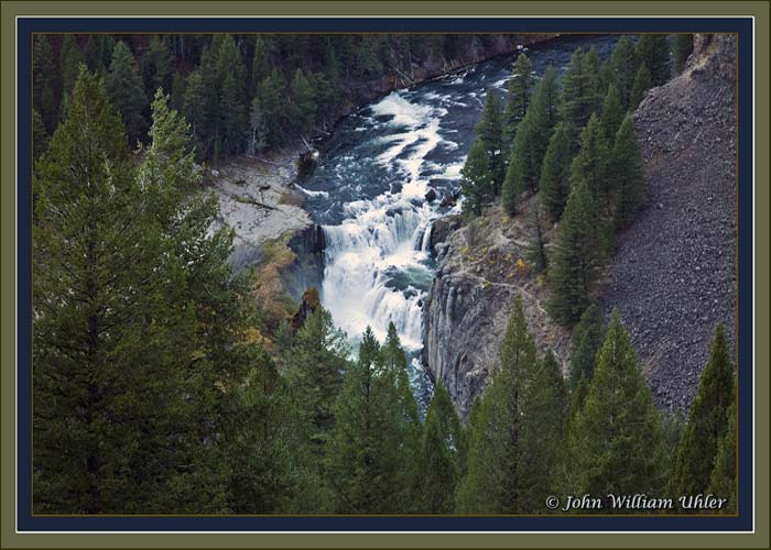 Lower Mesa Fall by John William Uhler - © Copyright Page Makers, LLC and Yellowstone Media