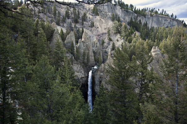 Tower Fall - Yellowstone National Park - by John William Uhler © Page Makers, LLC