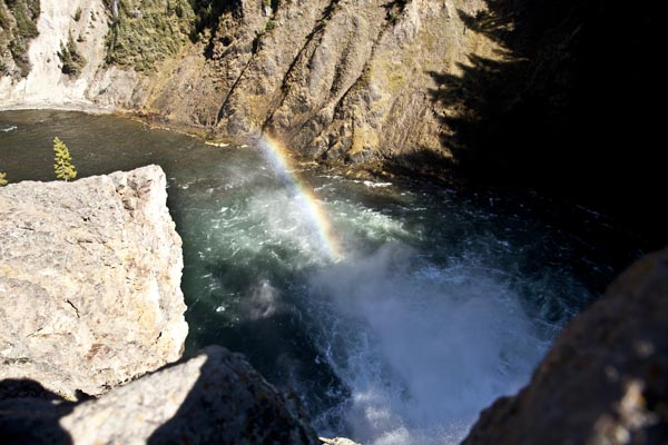 Upper Falls of the Yellowstone River by John William Uhler © Copyright